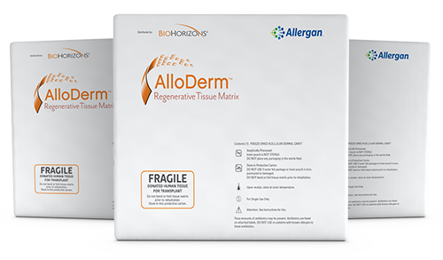 AlloDerm RTM package