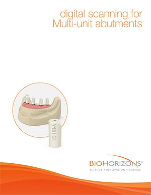 Digital scanning for Multi-unit abutments