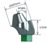 Angled Multi-unit abutment