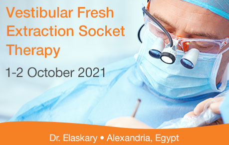 Vestibular Fresh Extraction Socket Therapy