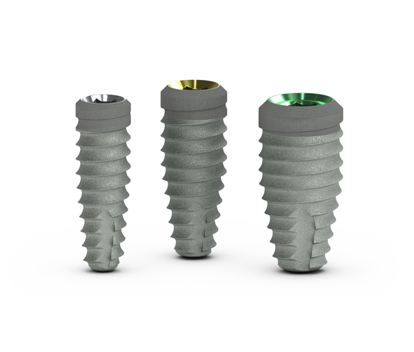 Implants dentaires Tapered PLUS