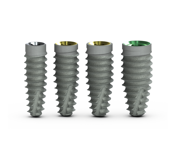 Tapered Pro dental implant