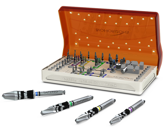 Tapered surgical kit