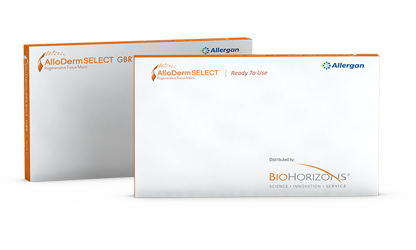 AlloDerm and AlloDerm GBR