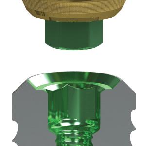 Tapered Plus prosthetic platform