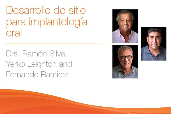 Dres. Ramón Silva, Yerko Leighton and Fernando Ramirez
