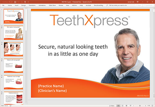 TeethXpress presentation